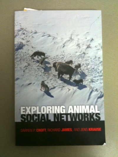 """Exploring animal social networks"" cover image"